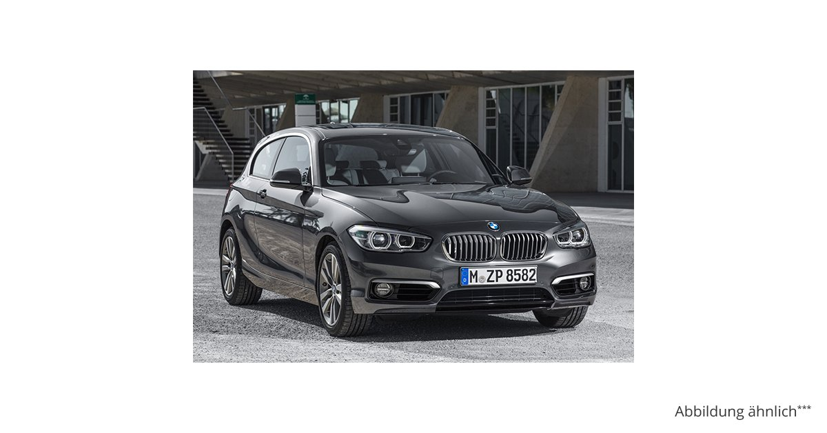 bmw 1er 116i 5 tuerer advantage 6 gang leasing ab 172 00. Black Bedroom Furniture Sets. Home Design Ideas