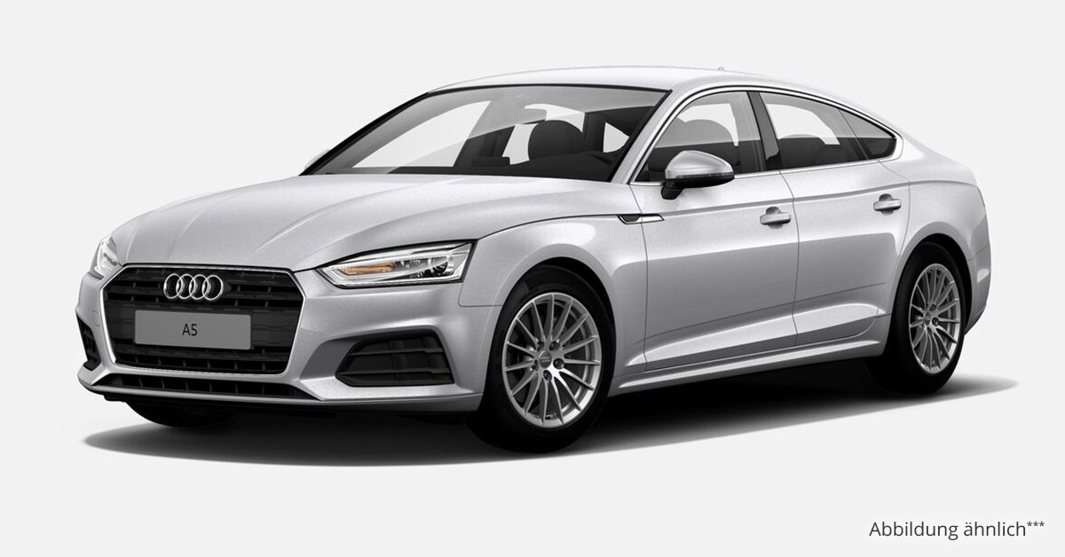 audi a5 sportback basis 2 0 tdi 6 gang leasing ab 275 00. Black Bedroom Furniture Sets. Home Design Ideas