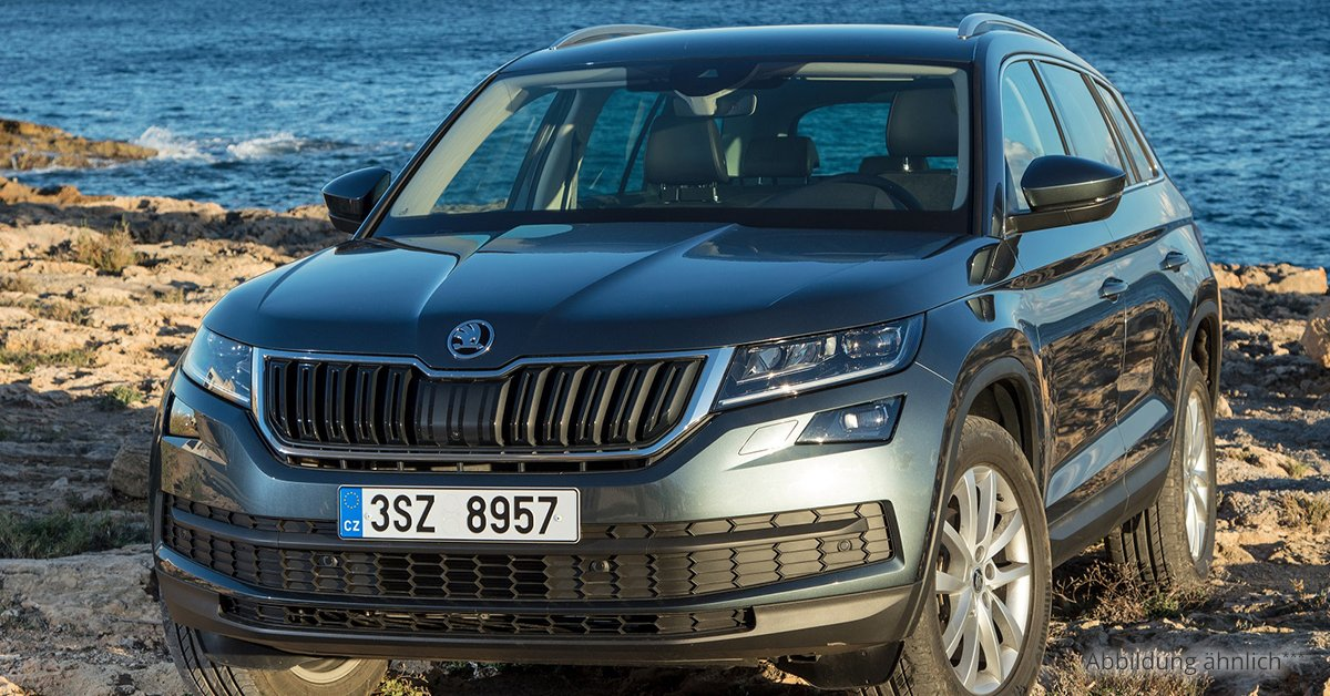 skoda kodiaq ambition 1 5 tsi act 6 gang leasing ab 186 00. Black Bedroom Furniture Sets. Home Design Ideas