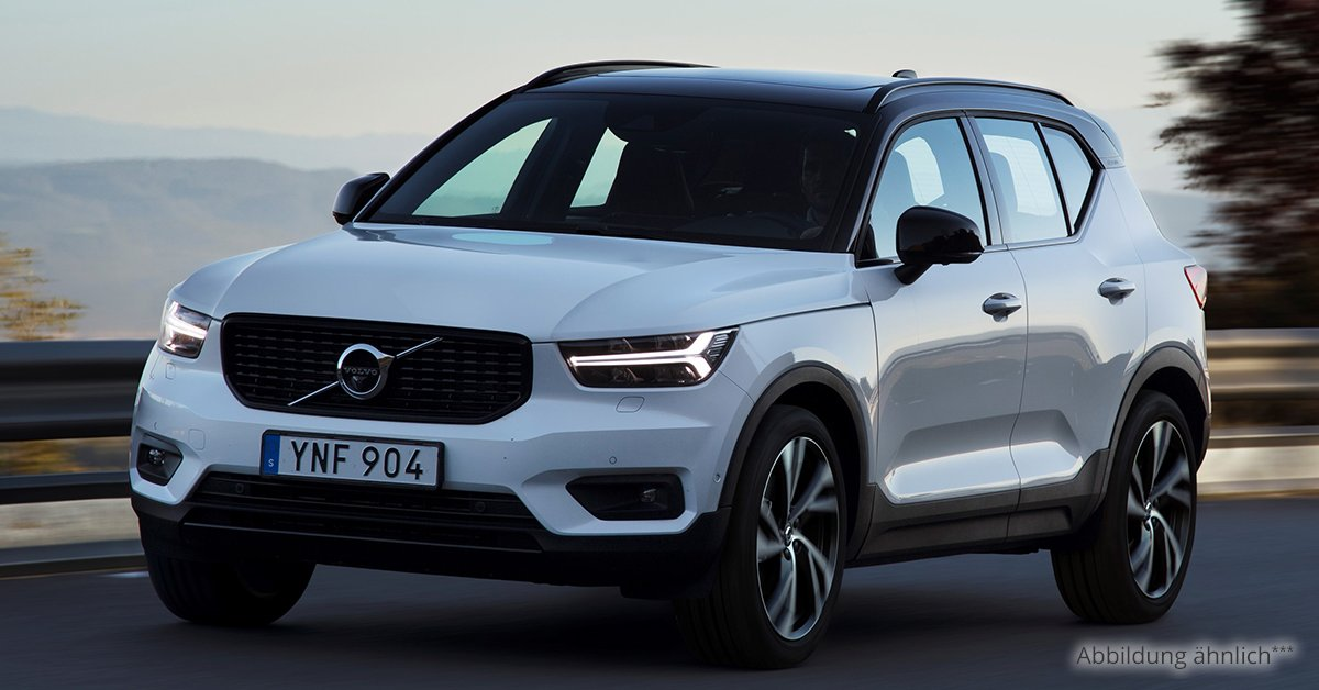 volvo xc 40 momentum t3 6 gang leasing ab 211 00. Black Bedroom Furniture Sets. Home Design Ideas
