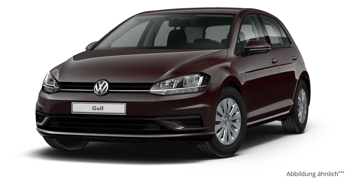 vw golf comfortline 4 t ren 1 0 tsi opf 5 gang leasing ab. Black Bedroom Furniture Sets. Home Design Ideas