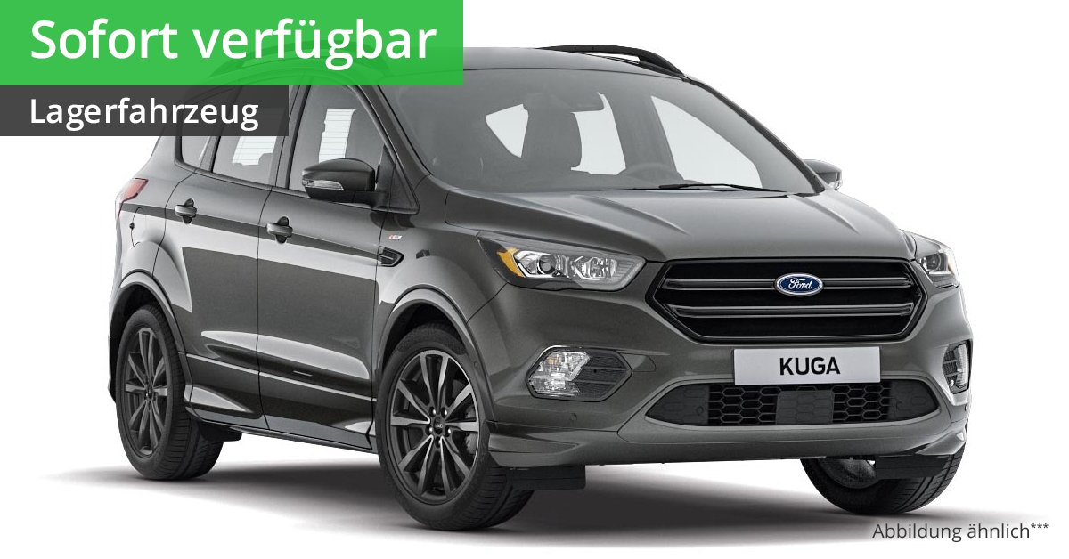 ford kuga st line 1 5 l ecoboost 6 gang automatik leasing. Black Bedroom Furniture Sets. Home Design Ideas
