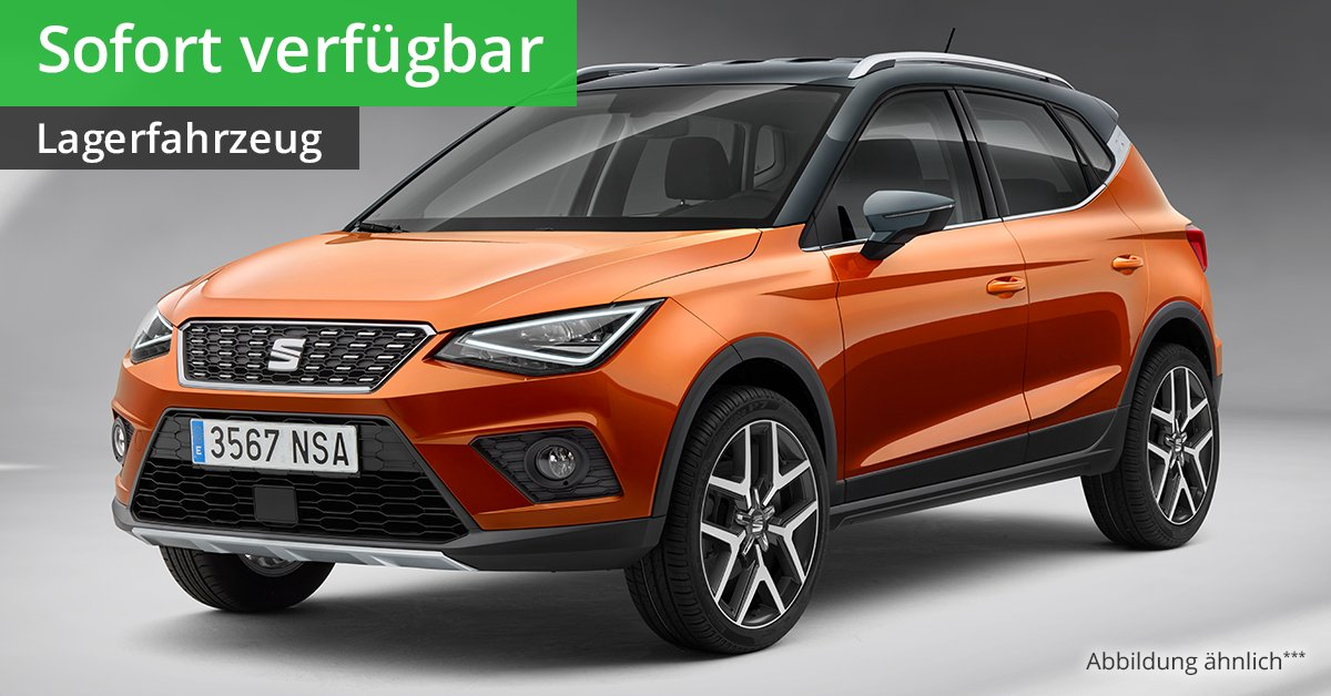 seat arona style 1 0 ecotsi start und stop 5 gang leasing ab 115 00. Black Bedroom Furniture Sets. Home Design Ideas