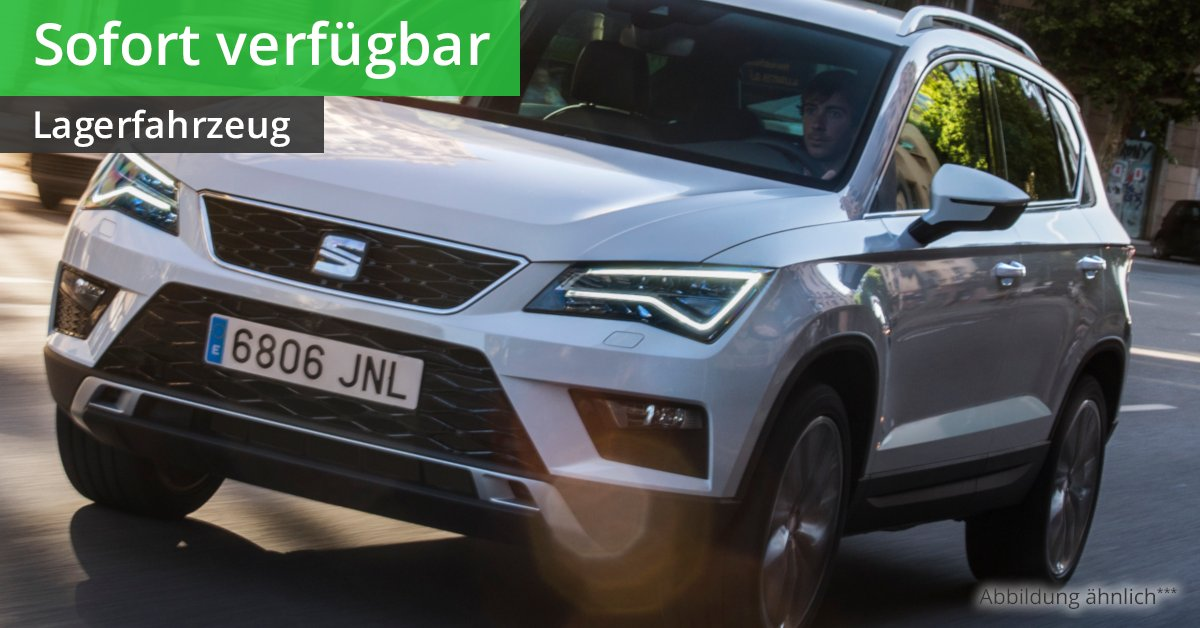 seat ateca xcellence 1 5 tsi act 6 gang leasing ab 192 00. Black Bedroom Furniture Sets. Home Design Ideas