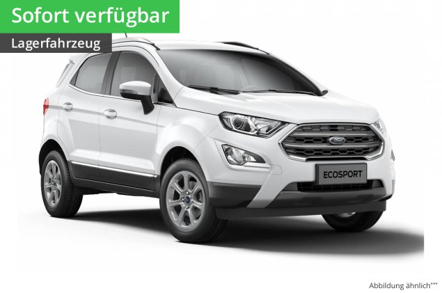 Ford EcoSport Cool&Connect 1,0L EcoBoost 6-Gang