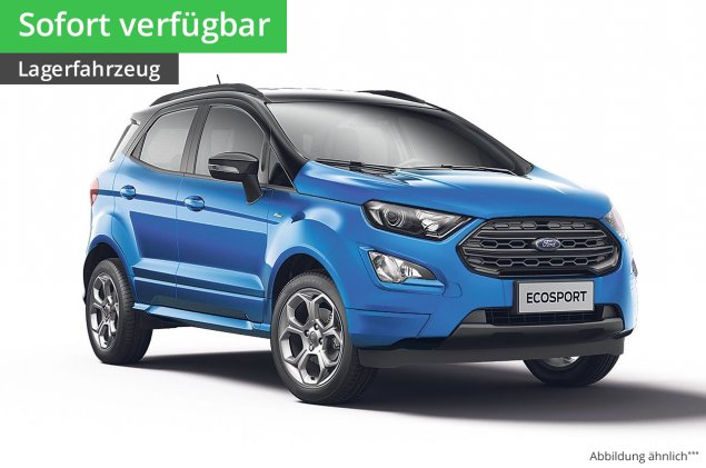Ford EcoSport Cool & Connect 1,0 l EcoBoost 6-Gang