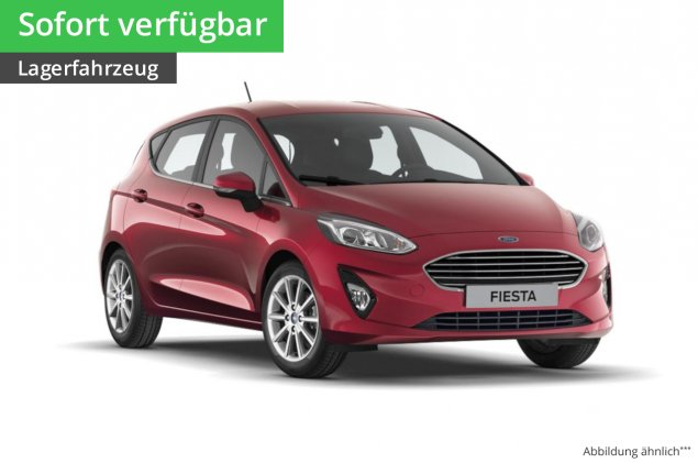 Ford Fiesta Cool&Connect Lim.5 1.0L EcoBoost 6-Gang